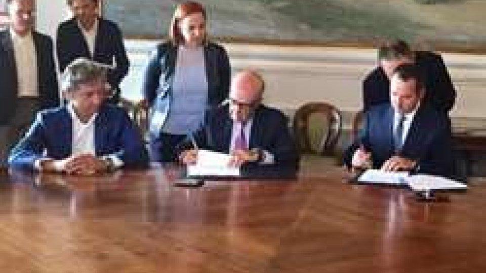 La firma del rinnovo