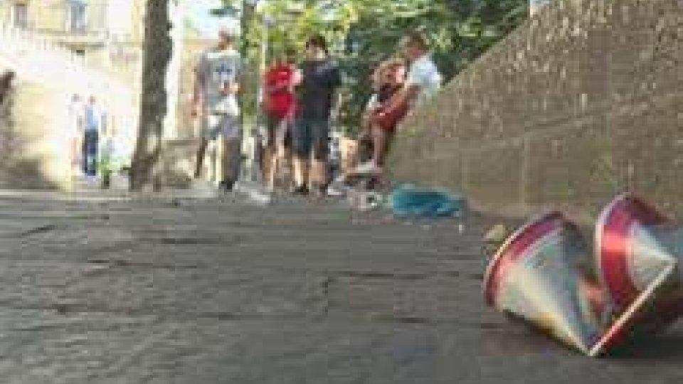 San Marino: la Polizia Civile chiude lo stradone per motivi di sicurezza