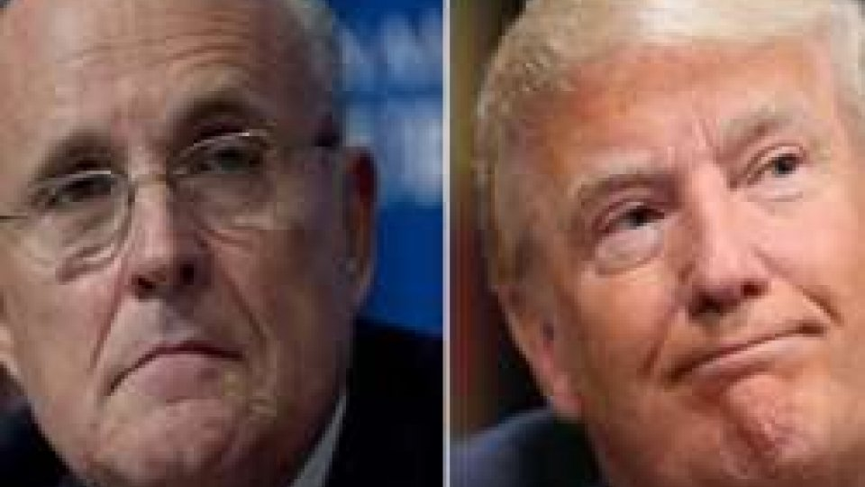 Rudy Giuliani e Donald Trump