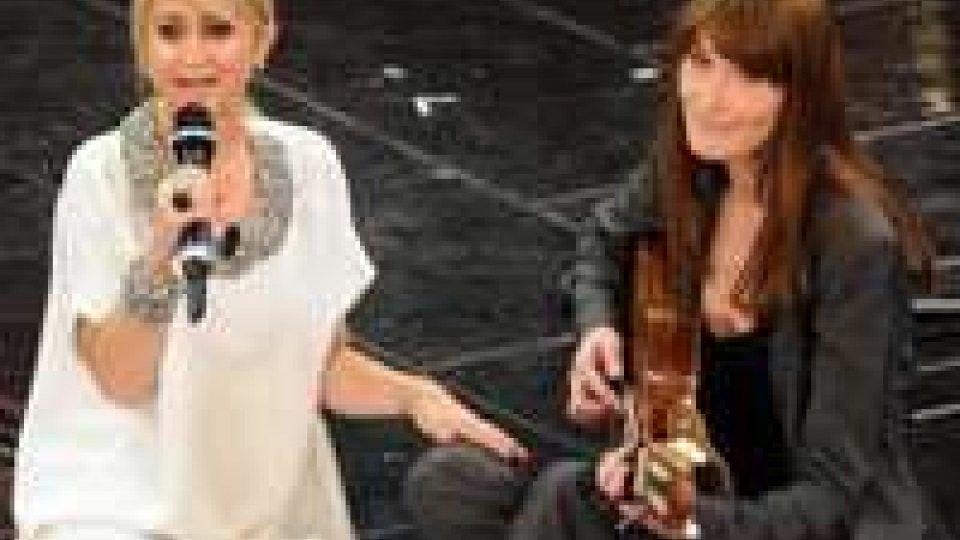 Sanremo: duetto Luciana-Carlà