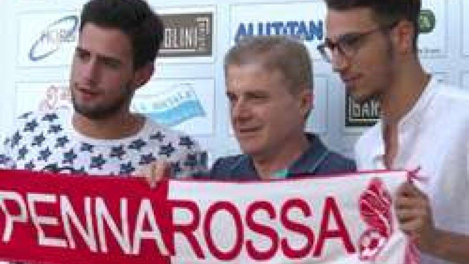 Alessandro Podeschi e Alessandro CiacciPennarossa, si riparte. Calcio e futsal in Piazza per tornare ad essere grandi