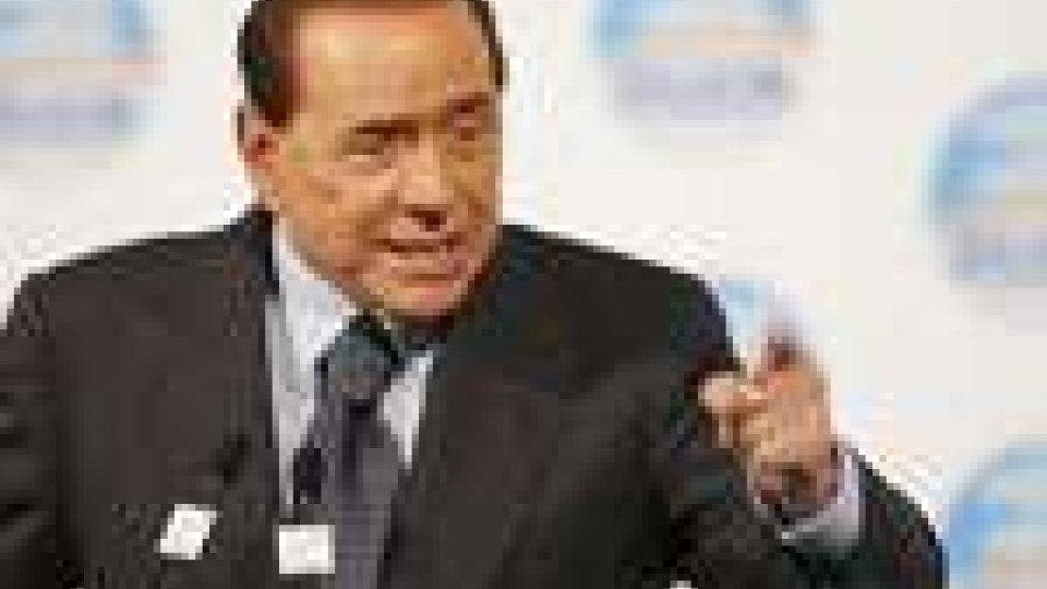 """Berlusconi: """"riforma fiscale prima dell'estate"""""""