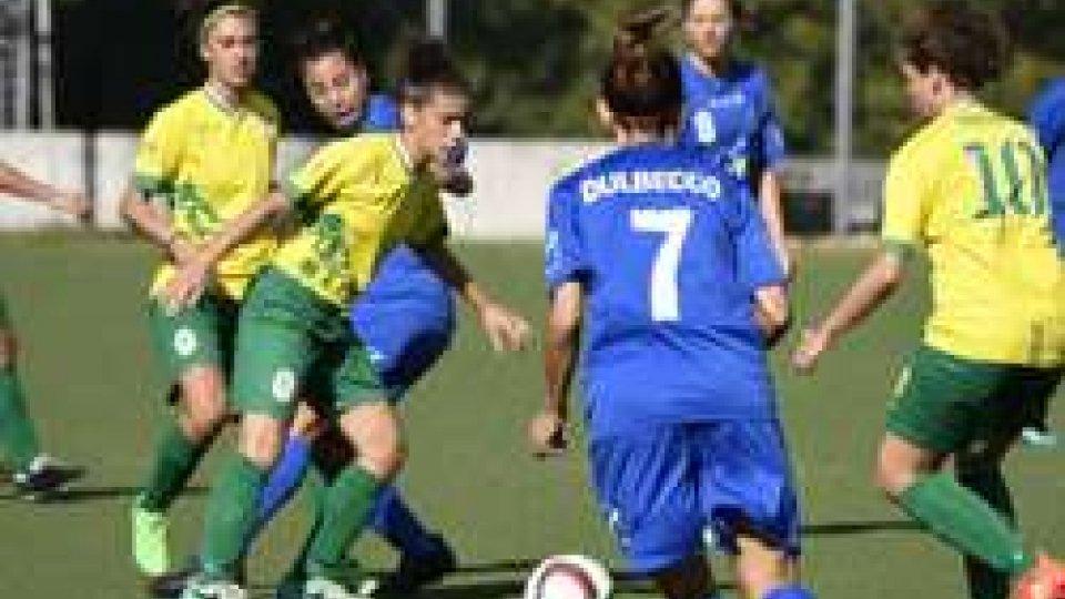 Femminile, Coppa Italia: San Marino Academy – Castelvecchio 2-3