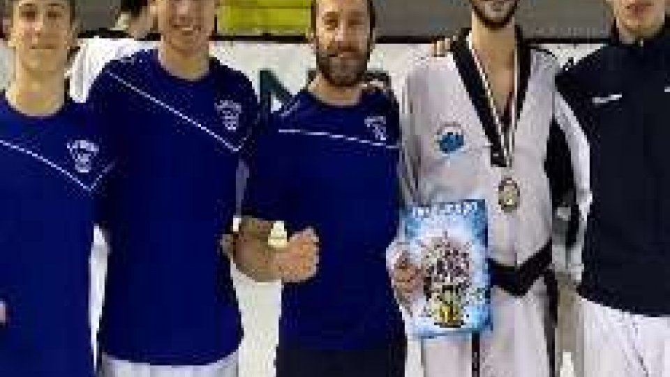 Campionati Italiani Categorie Olimpiche Michele Ceccaroni: bronzo Pozzuoli (NA)