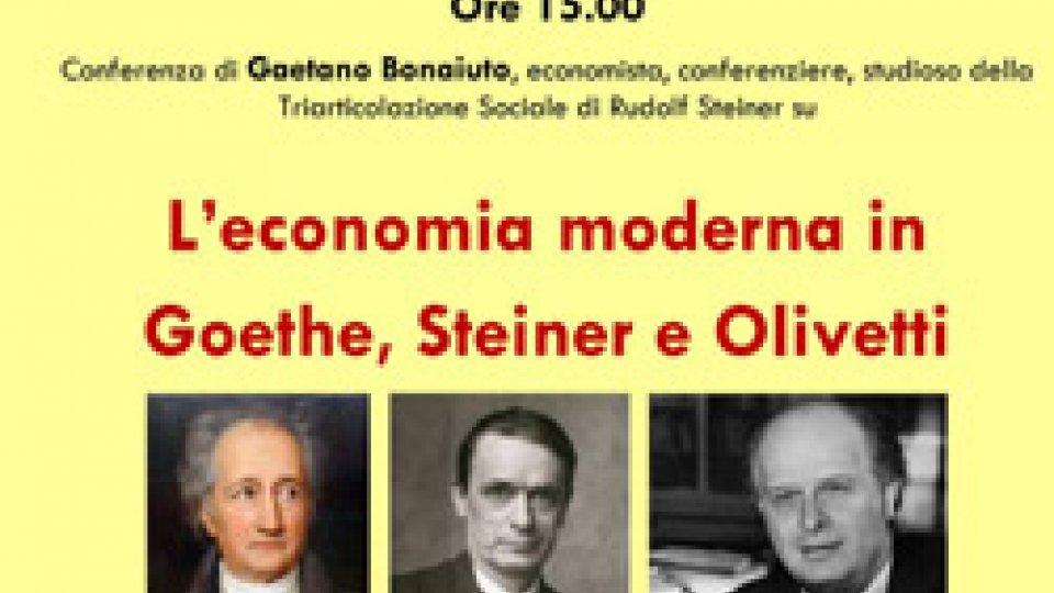 Serravalle: 17 marzo si parla di economia modena con Gaetano Bonaiuto