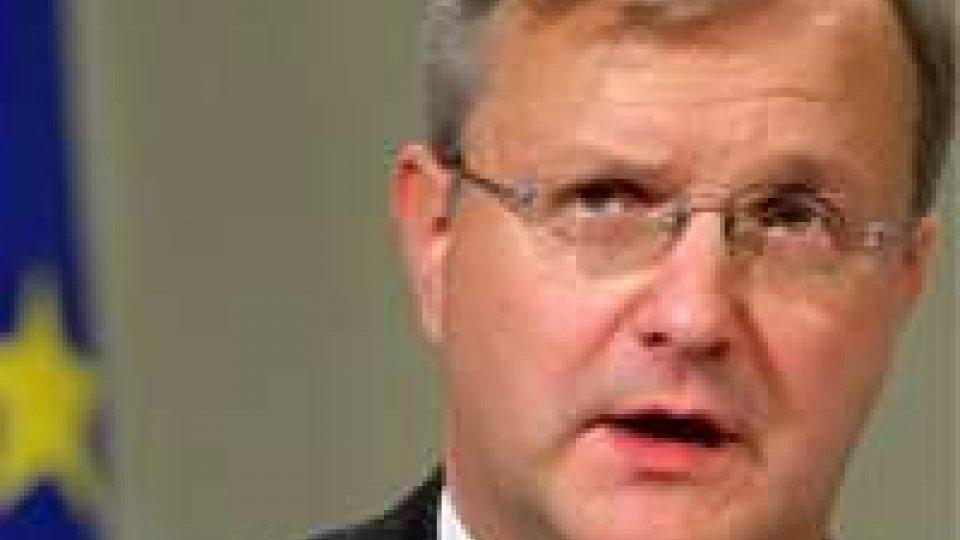 """Olli Rehn su proposta di Monti sull'uso del Fondo salva Stati: """"Non risolve il problema"""""""