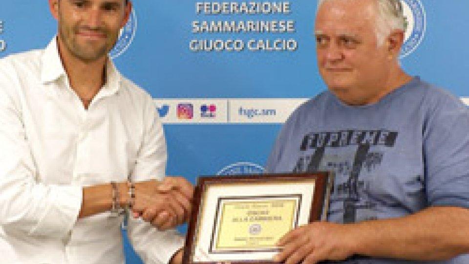 Oscar alla Carriera per Amato BernardiniCalcio Estate: Nicolò Angelini miglior giocatore, Filippo Berardi miglior giovane