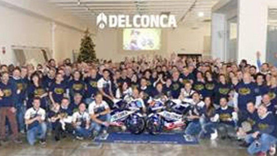 Un Natale da Campioni del Mondo con il TEAM DEL CONCA GRESINI MOTO 3 e nuovo Presidente per Ceramica del Conca