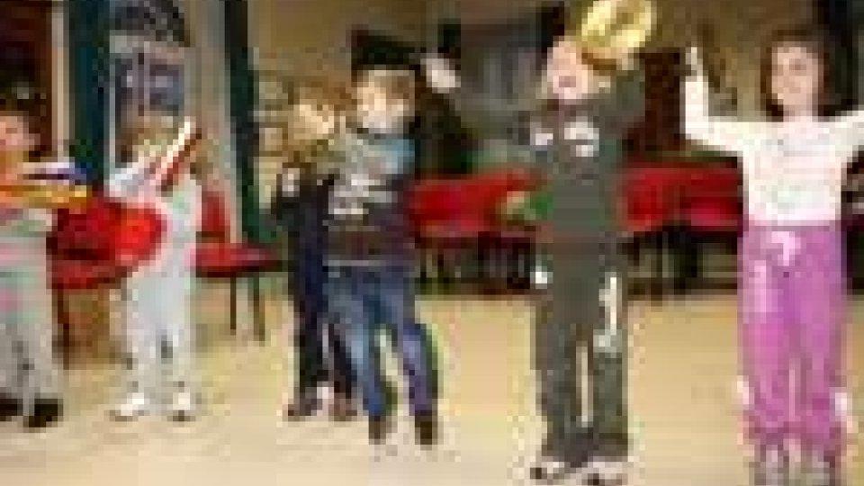 San Marino - Sono iniziati, all'istituto musicale sammarinese, i corsi di Musicagiocando