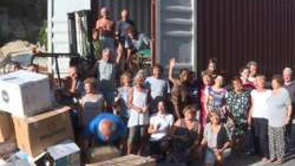 Solidarietà: partito il container di aiuti organizzato da Carità senza Confini per il Zambia
