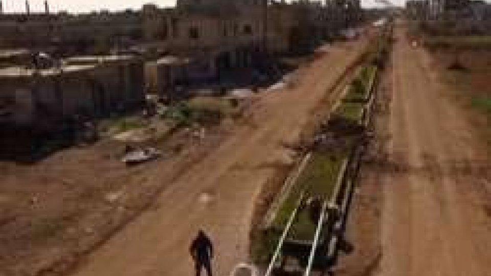 Devastazione in SiriaSiria: la UE rinnova le sanzioni; perplessità a San Marino