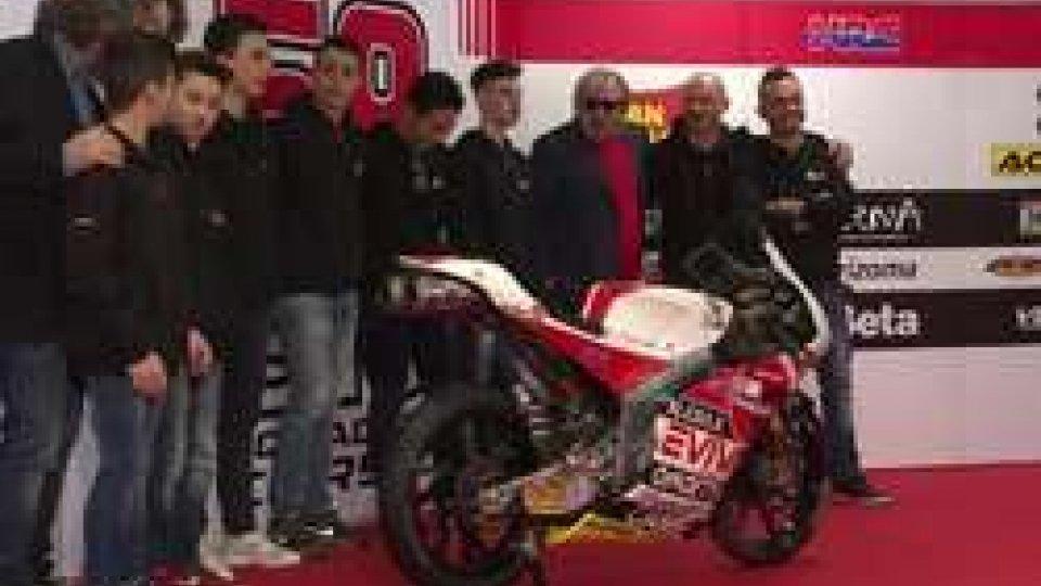 SIC58 Squadra Corse: presentato il Team per l'esordio in Moto3SIC58 Squadra Corse: presentato il Team per l'esordio in Moto3