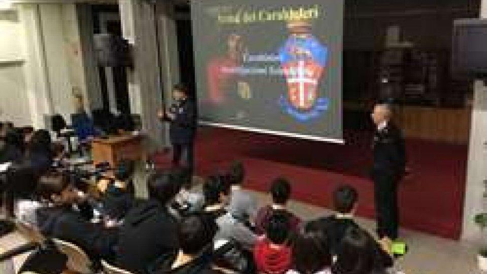 "Carabinieri al ""R. Molari"" di Santarcangelo"