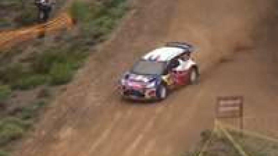 Rally dell'Acropoli, Loeb sempre al comando