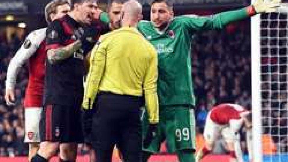 Europa League: Lazio ai quarti, Milan eliminato