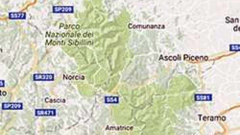 cartina dell'epicentro (Ansa.it)