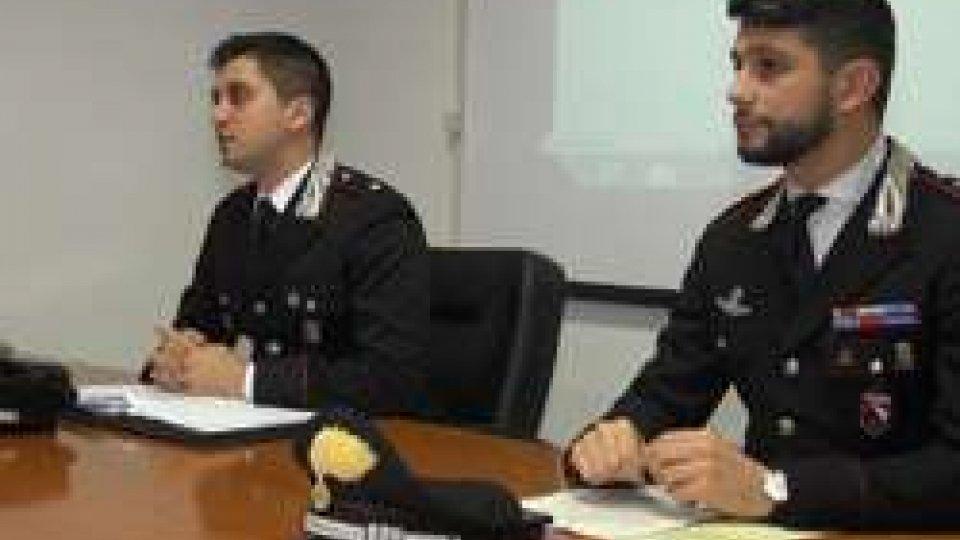Marco Califano,  Comandante dei Carabinieri di RiccioneRimini: rapina una donna disabile, arrestato dai carabinieri