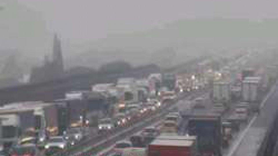 Pioggia gelata: disagi e chiusure sulle Autostrade del nord