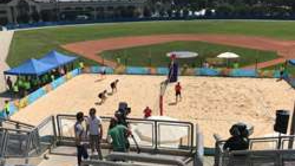 #sanmarino2017 FLASH: al via il beach volley