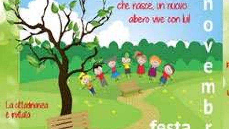 La Festa dell'Albero a Fiorentino: un nuovo albero per ogni bimbo