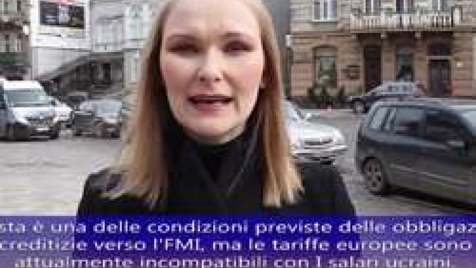Dall'Ucraina Viktoria PolishchukUcraina: situazione umanitaria drammatica e lo spettro della bancarotta