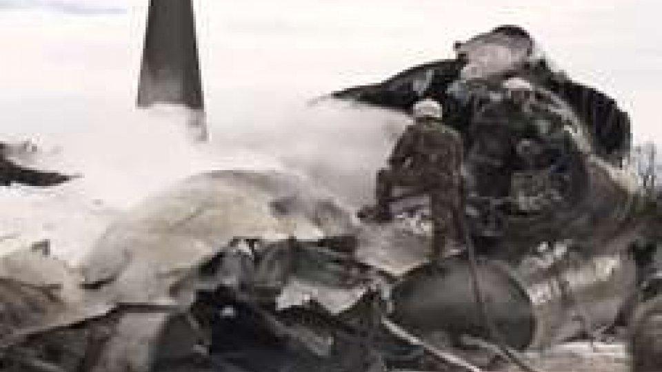 aereo precipitatoLo schianto in Algeria
