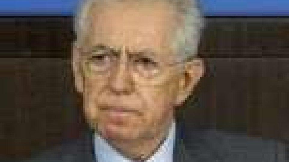 Monti illustra l'agenda dell'esecutivo, al lavoro sulle misure da adottare per favorire la crescita