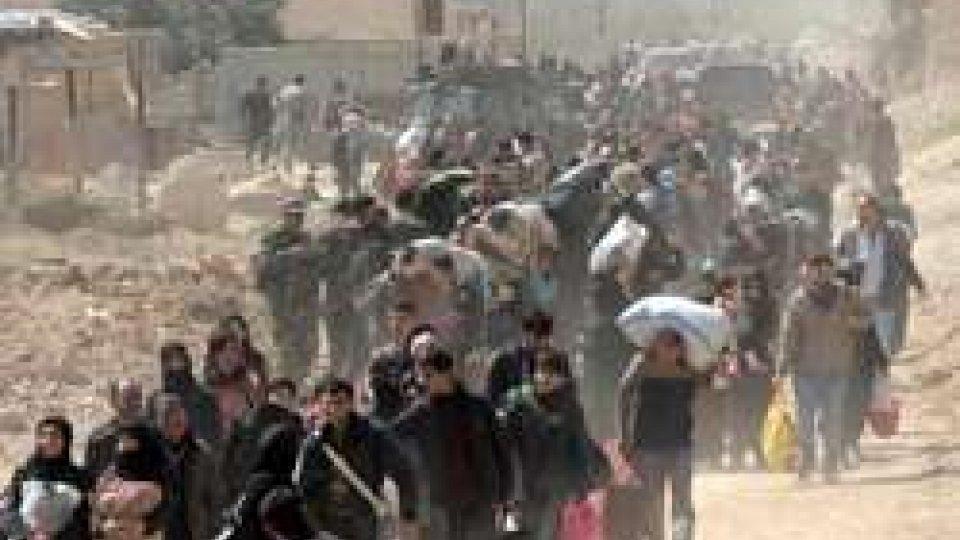 Siria: esodo umanitario dal Ghuta