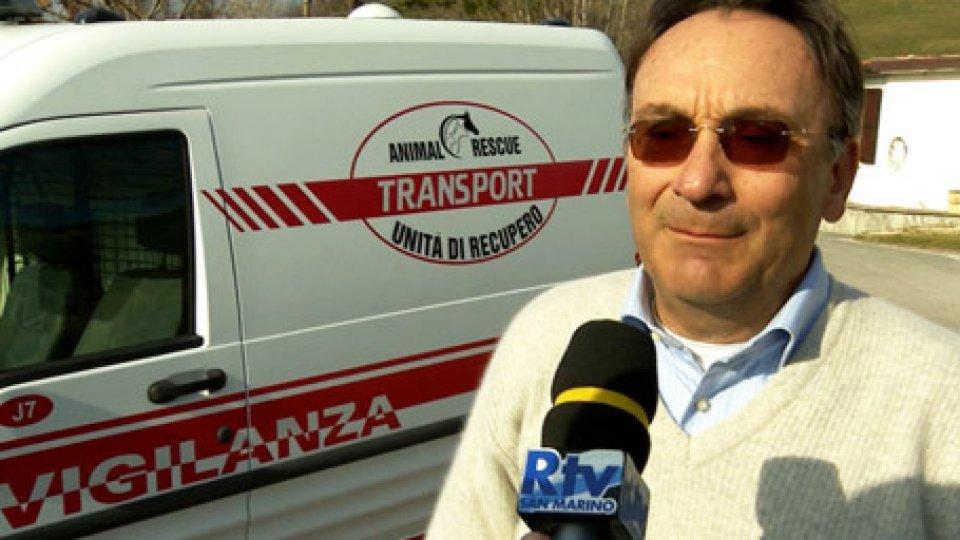 """Maurizio Battistini, medico veterinarioÈ attivo """"Animal rescue"""", la nuova unità di recupero di cani dispersi"""
