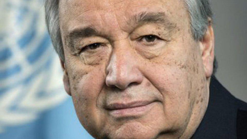 Antonio Guterres @twitter