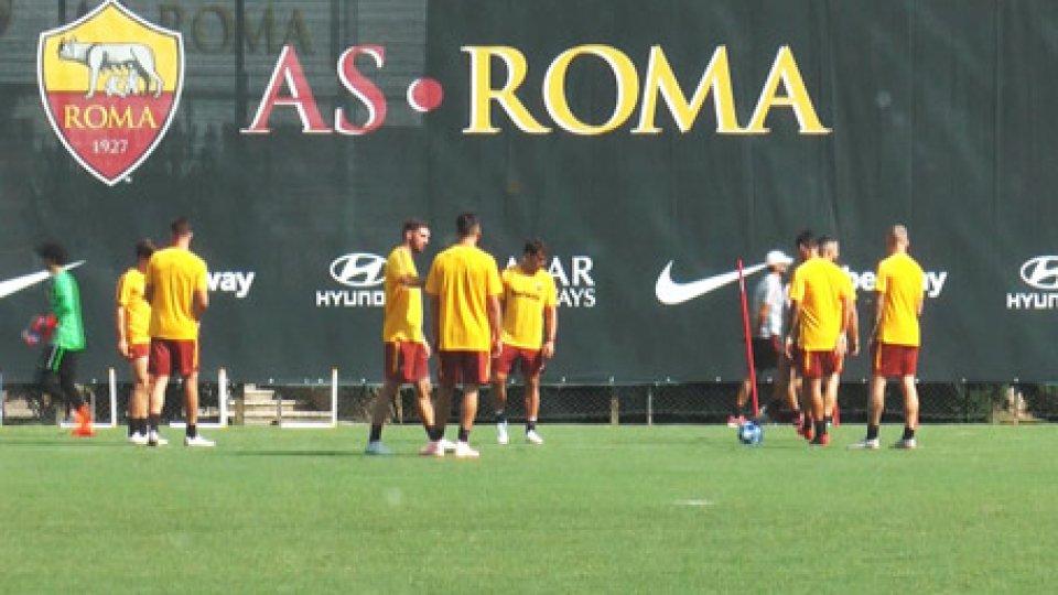 Allenamenti della RomaTorna la Champions League con Roma-Porto agli ottavi