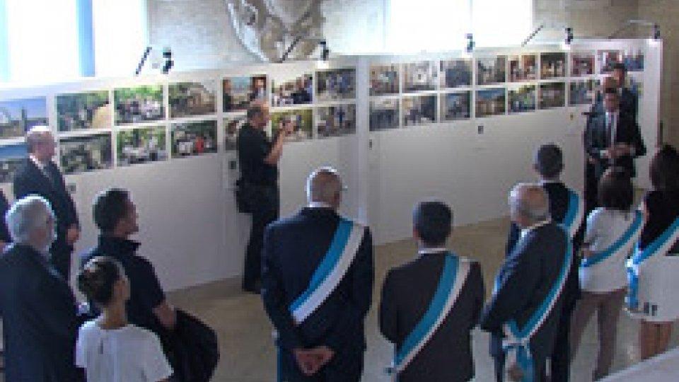 """Le immagini dall'inaugurazione""""Eccellenza dei Castelli"""": inaugurata la mostra dai Capitani Reggenti"""