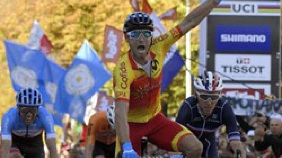 Ciclismo, l'eterno Valverde è Campione del Mondo