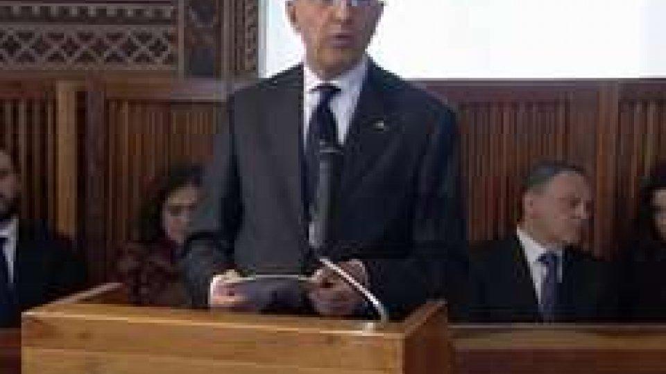 """Antonio PatuelliOrazione Presidente ABI, Patuelli: """"San Marino la Lussemburgo del Mediterraneo"""""""