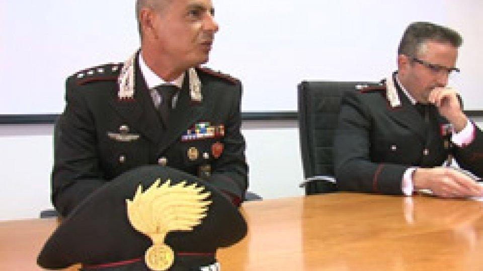 La conferenza stampaArrestato il terzo complice della rapina alla banca Popolare Valconca