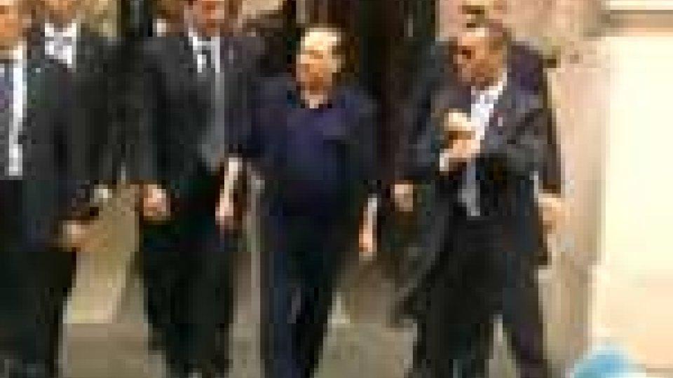 Italia: nuovo incontro del Premier a Palazzo GrazioliItalia: nuovo incontro del Premier a Palazzo Grazioli