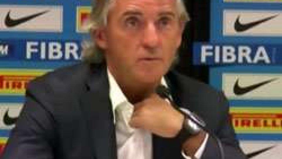 Roberto ManciniDerby d'Italia, il post partita dei tecnici