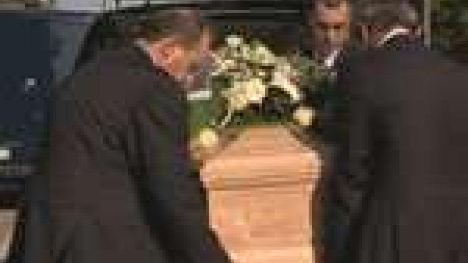 San Marino - A Domagnano il funerale civile di William Righi