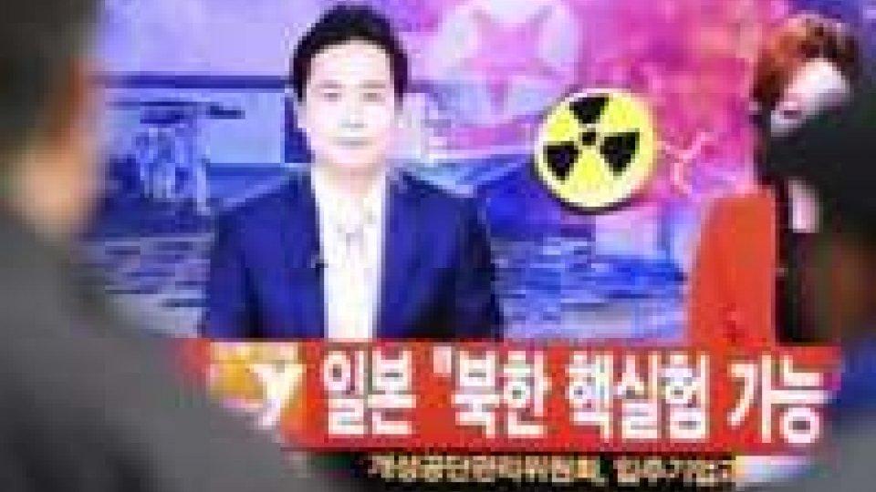 Giappone condanna test nucleare in Corea del Nord