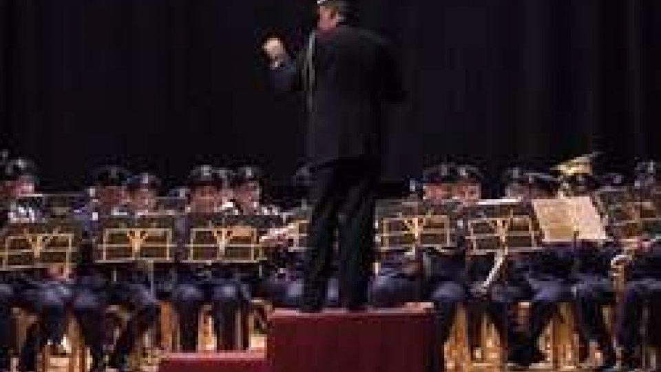 La Banda Militare omaggia la ReggenzaLa Banda Militare omaggia la Reggenza [Le immagini]