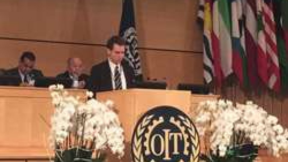 Andrea ZafferaniSan Marino a Ginevra per discutere di lavoro e diritti
