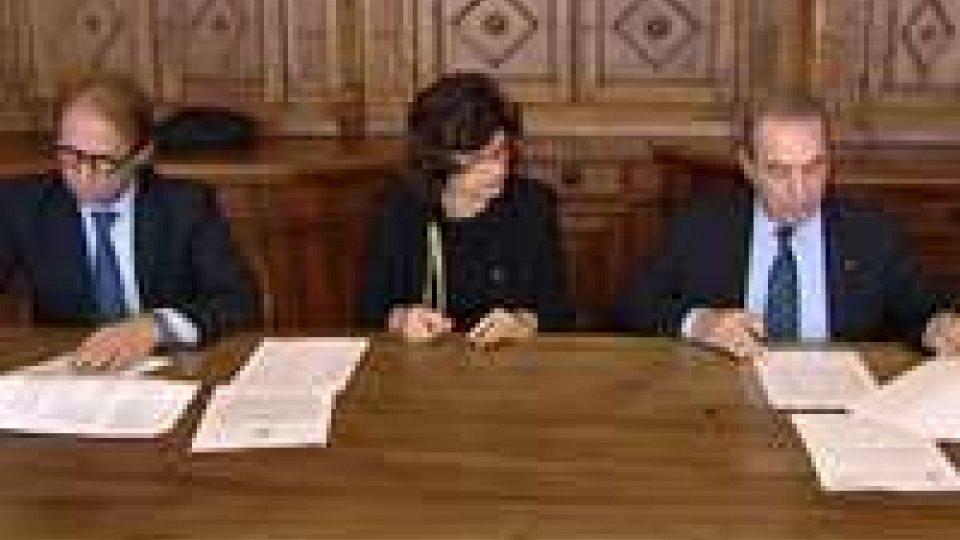Firmata la convenzione per il 2012 tra l'Eccellentissima Camera e San Marino Rtv