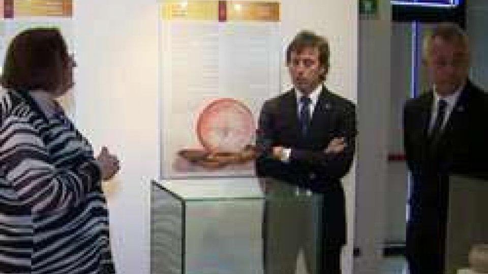 """I Capitani Reggenti in visita ufficiale alla mostra """"Domagnano in età Gota"""""""