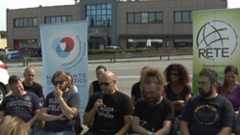 La conferenza stampaRoberto Ciavatta in gendarmeria per dossier anonimo con contenuti goliardici