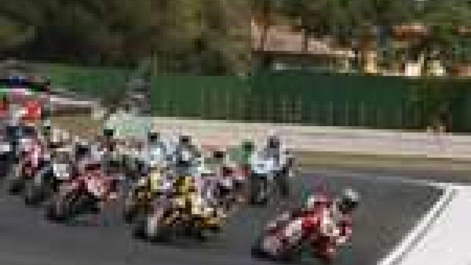 Moto in pista