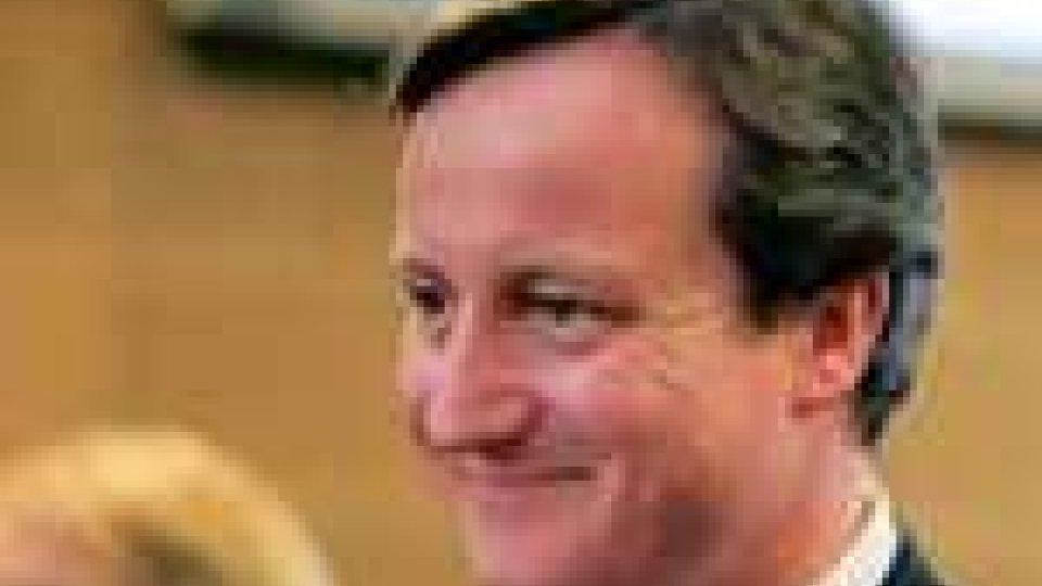 Cameron è il primo ministro inglese
