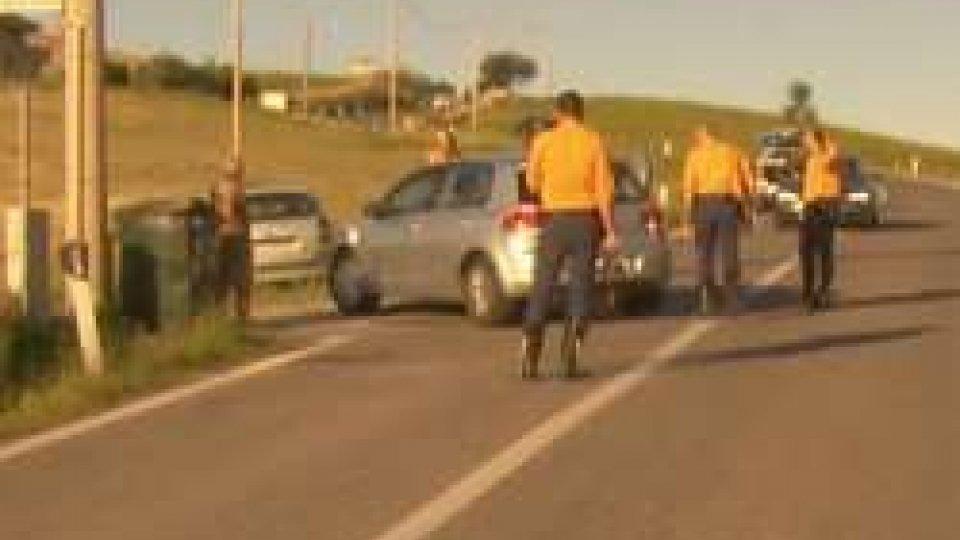 Auto contro moto, incidente stradale a San Marino in zona Torraccia