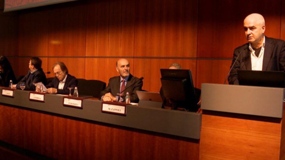 """Giuseppe PadulaLa Repubblica a """"Ecomondo"""" con il professore Giuseppe Padula dell'Università di San Marino"""