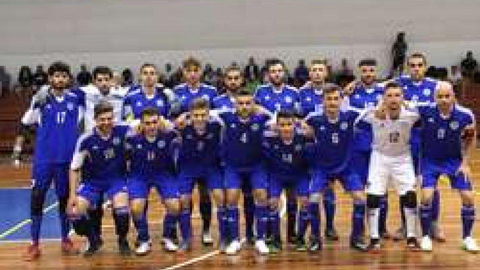 FSGC - Futsal, Nazionale da favola: 6-1 a Gibilterra