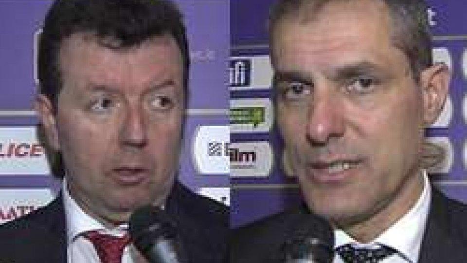 Spiro LekaConsultinvest Pesaro - Pasta Reggia Caserta: i commenti post partita dei due coach